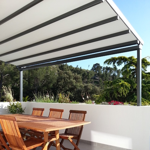 Pergola toile retractable vence