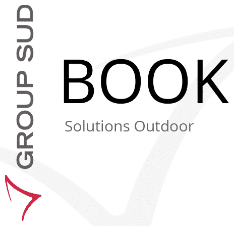 Couverture du Book solutions Outdoor de Group Sud