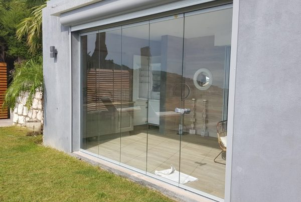 protection mur de verre Nice sur mesure group sud
